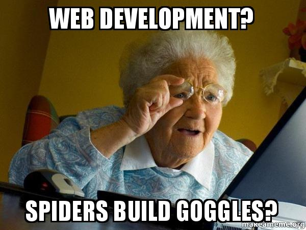 web development spiders