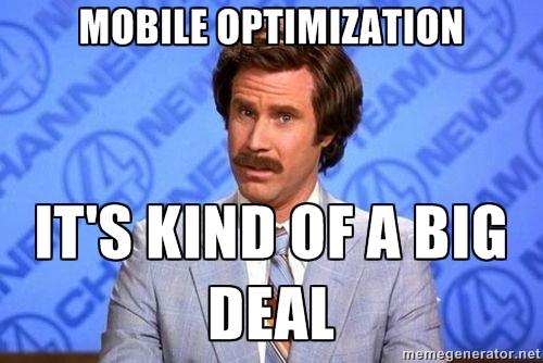 mobile optimazation