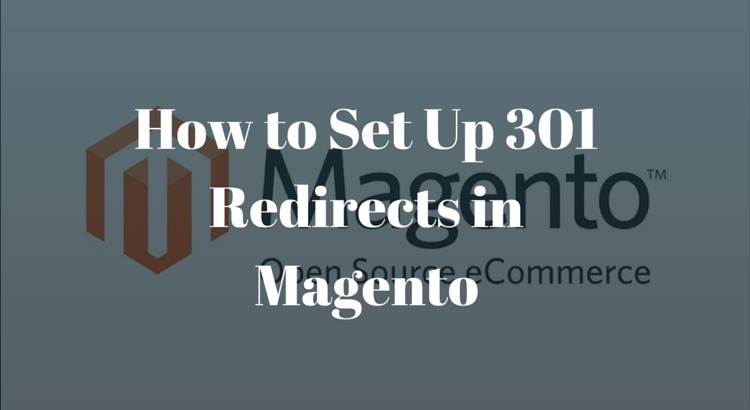301 redirects in magento