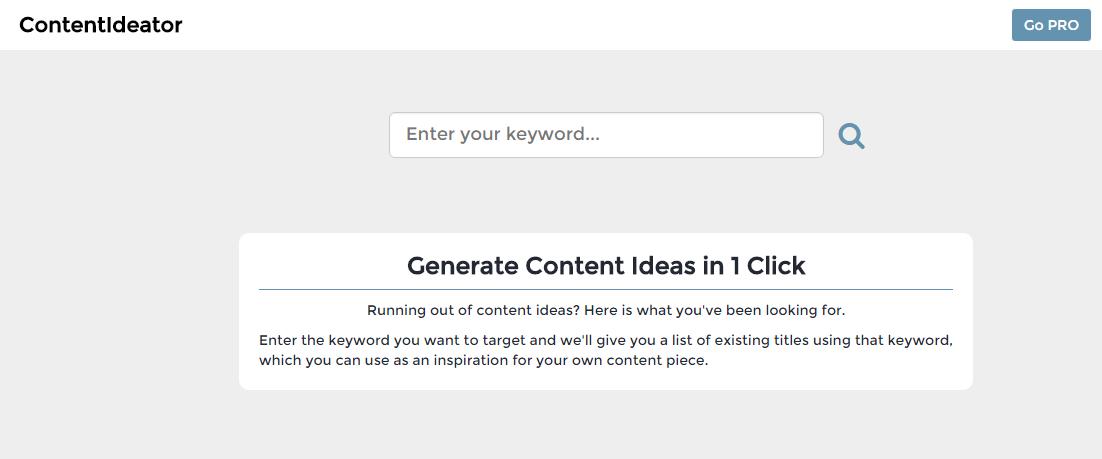 Content-Ideator