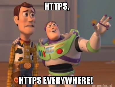 https website migration