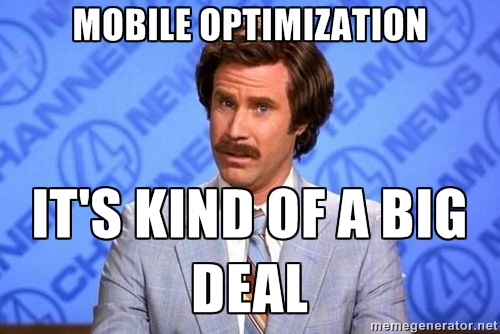 mobile optimisation