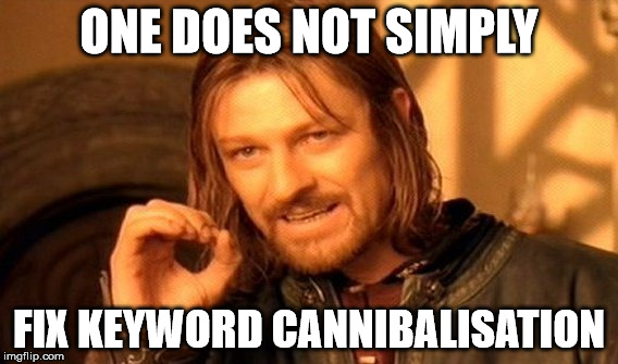 Keyword Cannibalisation